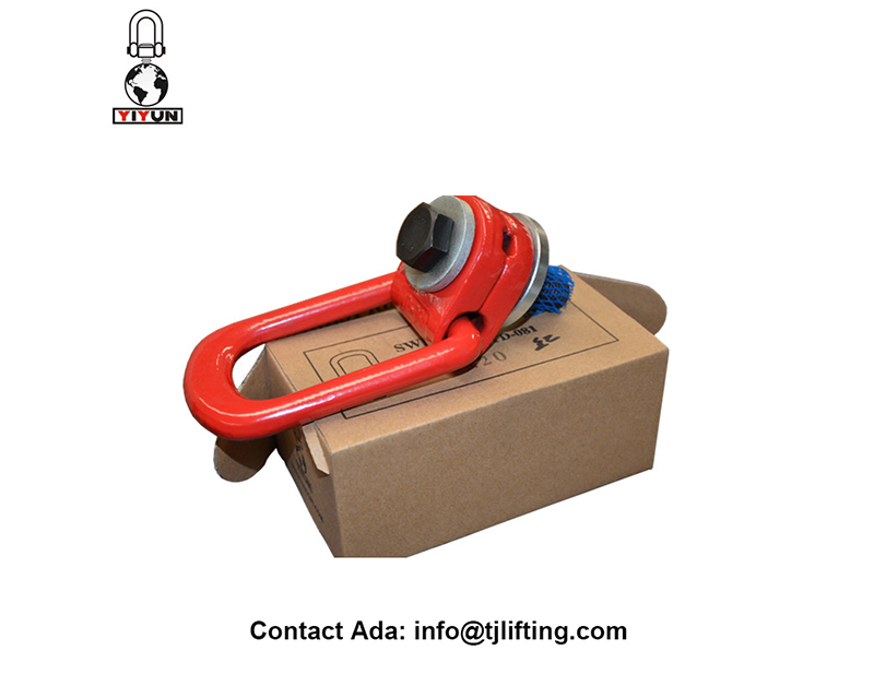 G80 Alloy Steel putar Hoist Ring 1 1/2 UNCTHREADG80 Alloy Steel putar Hoist Cincin