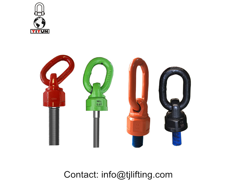 רכיבי מתקן טבעת מנוף מסתובבת 360 / נקודת ציר 180רכיבים קבועים� מסתובב / 180 נקודת הפיבוט