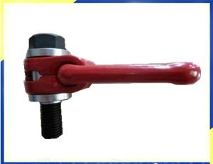 Forjado giratorio anillo de la cadena de carga del polipasto anillo de elevación Punto YD081 Thread1-8UNC WLL8800lbs