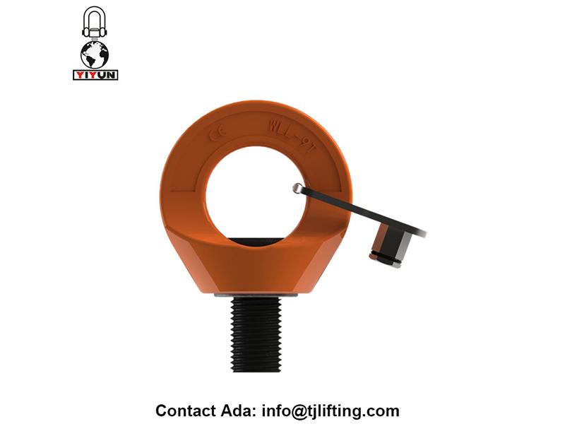 טבעת להניף המסתובב חומרה forgging G80 עבור תעשיית אנרגיית הרוח