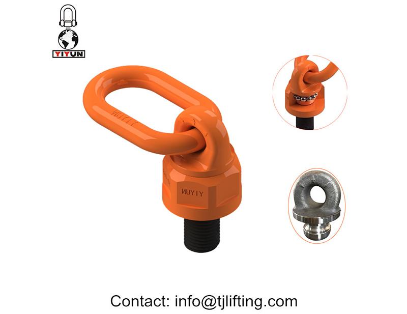 Equipo eléctrico INDUSTRIAL grado solución 360 gire eyebots con 3 / 8-16UNC hiloEquipos Eléctricos solución industrial