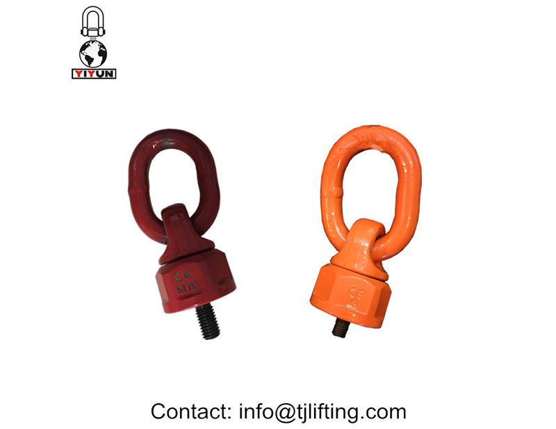 Outil entraîné en rotation à 360 degrés de montage sans bague de charge verticalpivotéemontage sans outil de bague de charge vertical