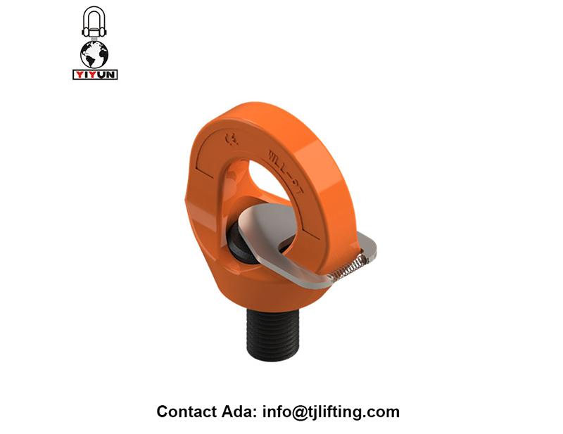 Lifting dan Material Handling Equipment dan Lifting Aksesori Rotating Eye Titik