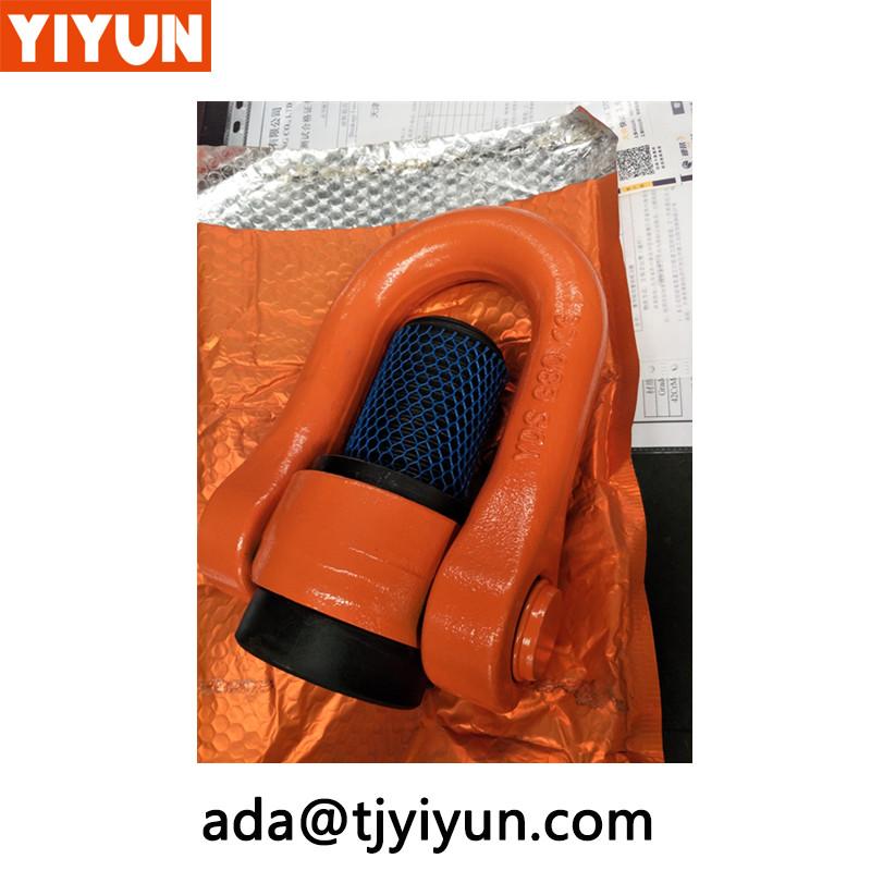 Køretøjsform drejelig ring, materialehåndteringsudstyr Dele Heavy Lifting Eye BolteKøretøjsform drejelig ringyr Dele Tunge løfteøjebolte