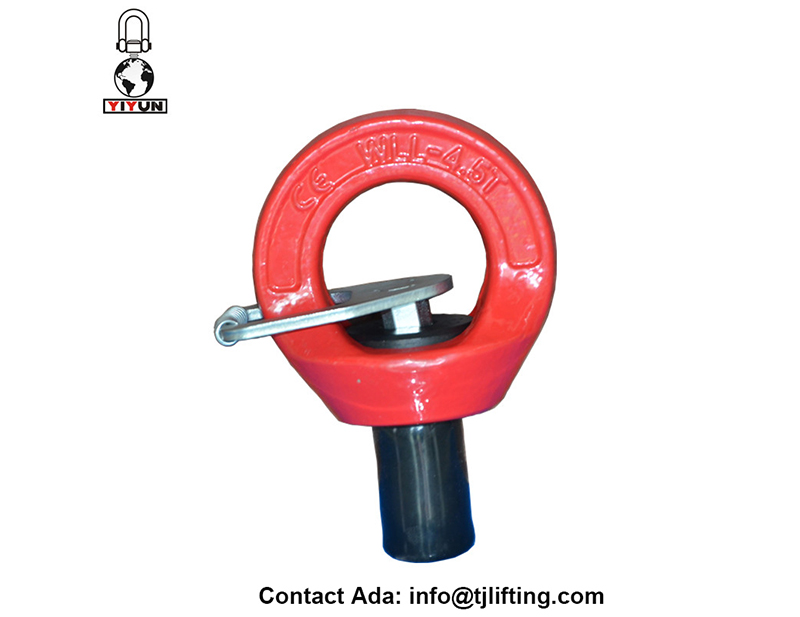 G80 forgging δακτύλιος ανύψωσης περιστρεφόμενη υλικού για τη βιομηχανία αιολικής ενέργειας