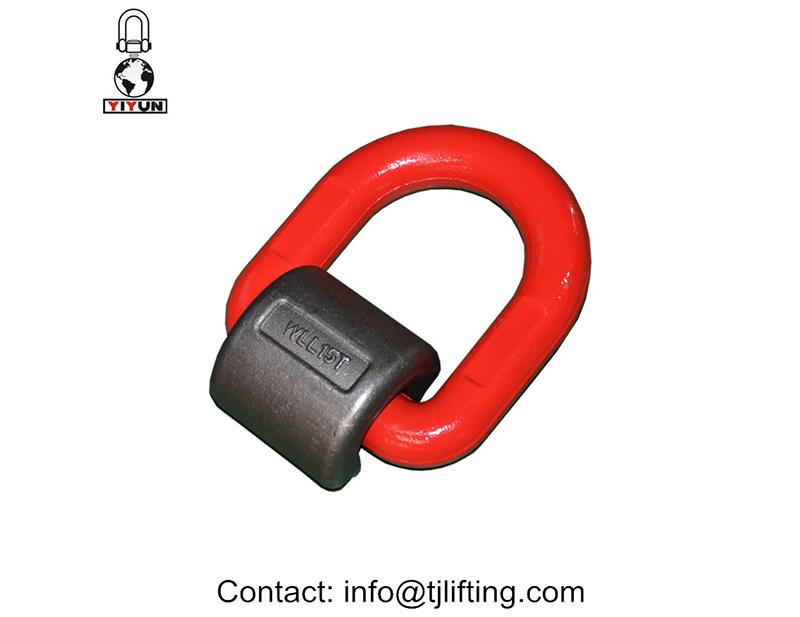 Opheffing van ring gesweis-op tipe