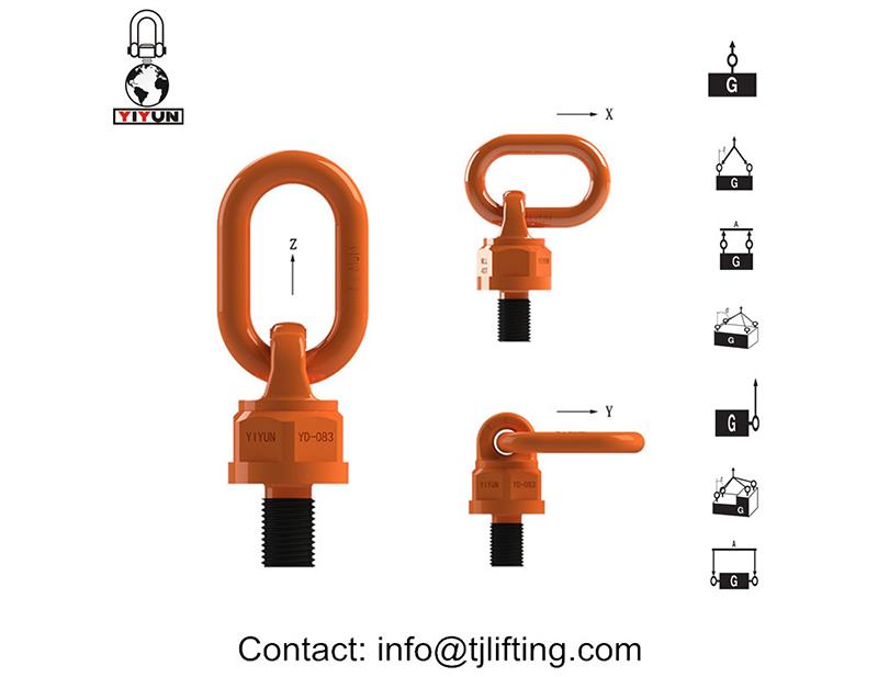 Premium Opheffing oog bout punt/swivel Hysbak ring vir die Opheffing van toerusting