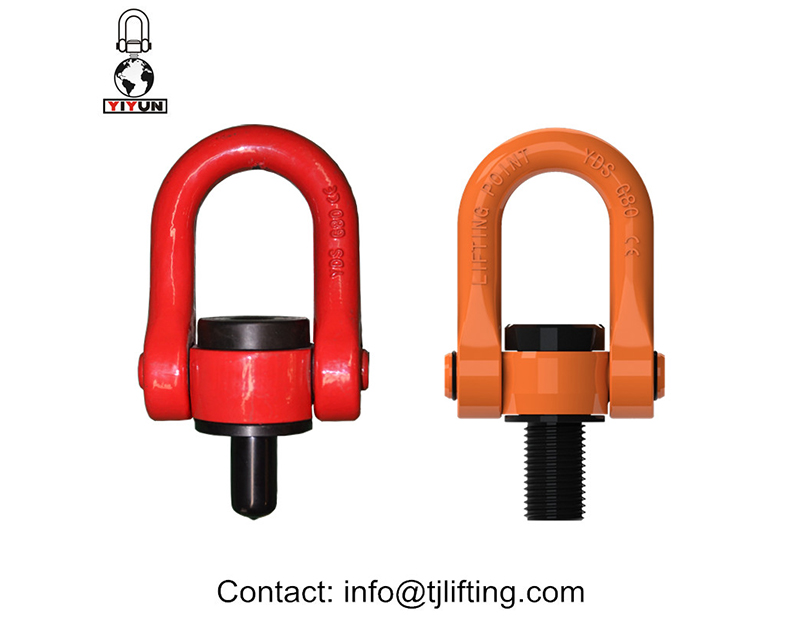 Hoist Cincin ke Web putar Hoist Rings