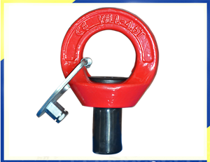 YD084 G80 Alloy Steel Eye Bolt Eye Point Untuk Molding, Pertambangan Beton Pracetak DanYD084 G80 Alloy Steel Eye Bolt Eye Point Untuk Molding