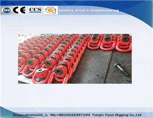 YD081 Forged Side Pull sisi beban Hoist Cincin Untuk AerospaceYD081 Forged Side Pull Side Load Hoist Ring For Aerospace&Manufacturing