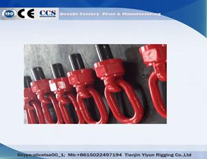 YD083 G80 smedet fastgørelsespunkter drejelig Hejse ring til støbningYD083 G80 Forged Attachment Points Swivel Hoist Ring For Molding & Mining