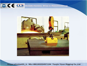 100-5000KG Permanent Lifting Magnet Lifter For Steel
