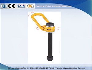 G80 gesmee Swivel takel Ring Long Bolt Direkte Prys uit ChinaG80 Forged Swivel Hoist Ring Long Bolt Direct Price from China