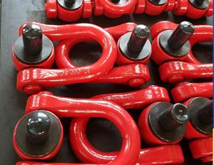 Équipement industriel YDS M16M18 émerillons Hoist Anneaux / levage Anneau de levage pivotant point WLL2T pour le haubanageIndustrial Equipment YDS M16M18 Swivels Hoist Rings / Swivel Shackle Swivel Lifting Point WLL2T For Rigging