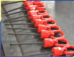 High Quality Lifting Eyes & Hoist Rings YD083 M8 to M100, WLL 0.4T to 49T