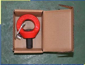 SS دوار القيد حلقة رافعة للتزوير البحريةSS Swivel Shackle Hoist Ring for Marine Rigging