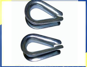 DIN6899 Type B Wire Rope Thimbles