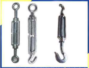 Turnbuckle DIN1480 Eye Eye/Eye Hook/Hook Hook