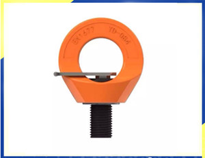 Ringe tilbehør lastekapacitet 0.4T-12T metrisk gevind m8-M48 G80 drejelig løftepunktRings accessories loading capacity 0.4T-12T metric thread m8-M48 g80 swivelling lifting point