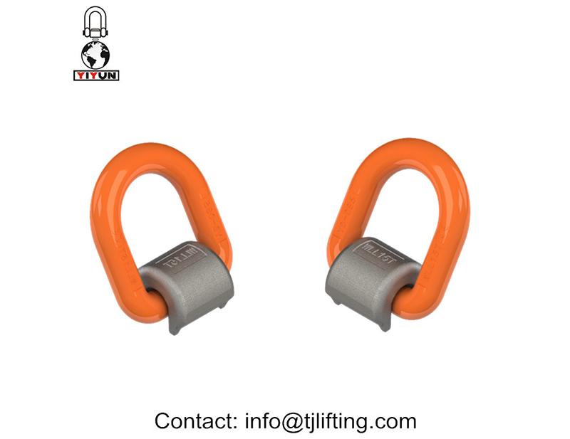 vertikale d-ring / d shackle