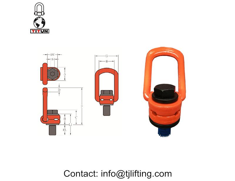 giratoria punto de elevación / punto UNC de elevación