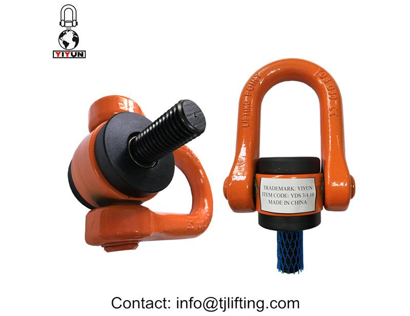 Power belægning løft punkt design 3/4 UNC størrelse G80 legeret ståleffekt belægning løftepunkt design