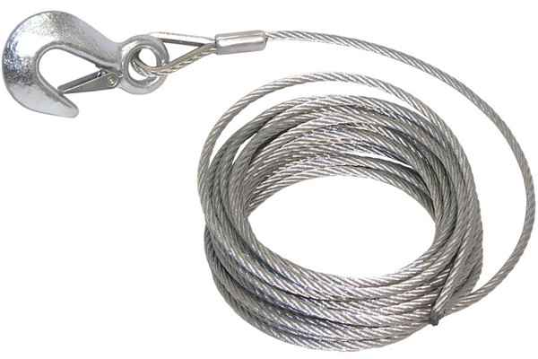 Galvanized ire Rope Slings Single Leg Pressed wire Rope Sling, Wire ...