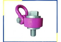 Heavy Duty Swivel Hoist Ring WLL30T Alloy Steel Pink Oxide finish, Thread Size M72,Thread Length 110mm