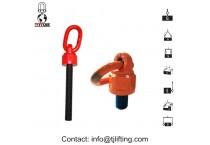 Ball-bearing Lifting Point/Universal swivel hoist ring