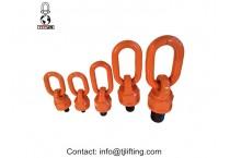 Chain sling assembly swivel hoist ring G80 alloy steel