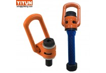 chinese supplier YIYUN hoist ring stainless steel m24 swivel eye bolt