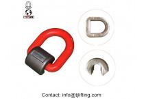 Hardware Rigging Forged Hoist welded D Ring Swivels