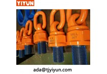Fasten lifting point and rope hardware side load hoist rings for Wind Power Generation