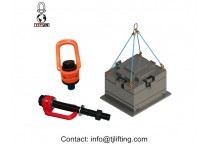 Hoist ring to chain swivel hoist rings/side pull lifting point