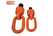 Integrated load ring pivots and swivels rotation lifting point M36 WLL 8T