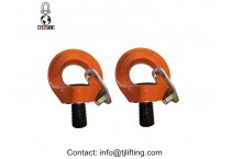 YD084 M14 WLL 0.75T G80 alloy steel Swivel Eye bolt