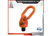 Yiyun Forged G80 orange Coated Swivel Hoist Ring